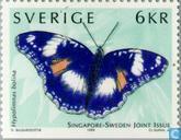 Timbres-poste - Suède [SWE] - Papillons
