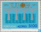 Postzegels - Azoren - Europa – Brug