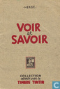Postcards - Tintin - Voir et Savoir : Aérostation - Série 1 (1-6) + Collection B (1-6)