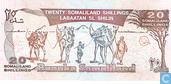 Banknotes - Baanka Somaliland - Somaliland 20 Shillings