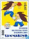 Postage Stamps - San Marino - Sports small states