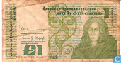 Billets de banque - Banc Ceannais na hÉireann / Central Bank of Ireland - Pound Irlande 1