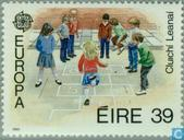 Postage Stamps - Ireland - Europe – Children's games