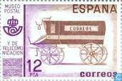 Postage Stamps - Spain [ESP] - Post and Communications Museum Madrid