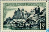 Postage Stamps - France [FRA] - Uzerche (Corrèze, Limousin)