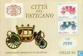 Postzegels - Vaticaanstad - Int. Postzegeltentoonstelling ITALIA '85