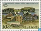 Postzegels - IJsland - Partnersteden