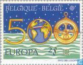 Postage Stamps - Belgium [BEL] - Europe – Discovery of America