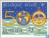 Briefmarken - Belgien [BEL] - Europa – Entdeckung von Amerika