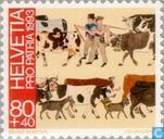 Postage Stamps - Switzerland [CHE] - Folk-art