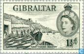Postzegels - Gibraltar - Uitzicht