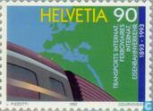 Postage Stamps - Switzerland [CHE] - OCTI 100 years