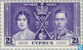 Postage Stamps - Cyprus [CYP] - Coronation of George VI