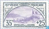 Postzegels - Frankrijk [FRA] - Oorlogswezen