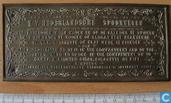 Bronzen plaquette NV Nederlandsche Spoorwegen