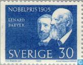 Postzegels - Zweden [SWE] - Nobelprijswinnaars 1905