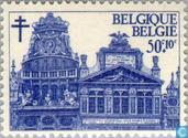 Timbres-poste - Belgique [BEL] - Grand-Place, Bruxelles
