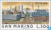 Postage Stamps - San Marino - Famous cities-Tokyo