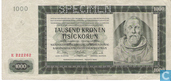 Bohemen Moravië 1000 Kronen