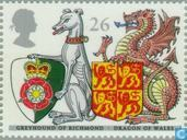 Postage Stamps - Great Britain [GBR] - Heraldry