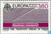 Postage Stamps - France [FRA] - Europe – Transportation and communications