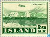 Postage Stamps - Iceland - 250 Green