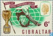 Briefmarken - Gibraltar - World Cup Soccer