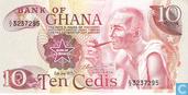 Bankbiljetten - Ghana - 1972-1978 Issue - Ghana 10 Cedis 1978