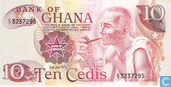 Billets de banque - Ghana - 1972-1978 Issue - Ghana 10 Cedis 1978