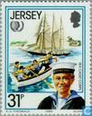 Postage Stamps - Jersey - Int. Year of Youth
