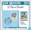 Postage Stamps - San Marino - Promoting philately