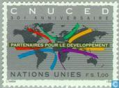 Timbres-poste - Nations unies - Genève - La CNUCED