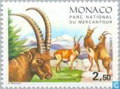 Postage Stamps - Monaco - Mammals from the national park