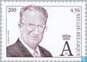 Timbres-poste - Belgique [BEL] - Roi Albert III (type Broux/MVTM)