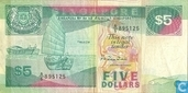 Banknotes - Singapore - Singapore 5 Dollars