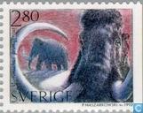 Timbres-poste - Suède [SWE] - Animaux préhistoriques