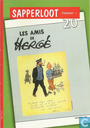 Comic Books - Tintin - Sapperloot 4: Les amis de Hergé