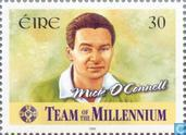 Postage Stamps - Ireland - Gaelic Football Team Millennium
