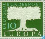 Briefmarken - Deutschland, Bundesrepublik [DEU] - Europa – Baum