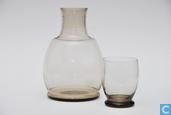 Glass / crystal - Kristalunie - Helios Wastafelstel fumi