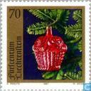 Postage Stamps - Liechtenstein - Christmas Decorations