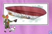 "Strips - Kuifjesbon producten - Chromo's ""Luchtschepen"" 41"