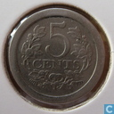 Coins - the Netherlands - Netherlands 5 cent 1907