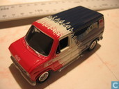Voitures miniatures - Johnny Lightning - Ford Van Econoline 150 'Coca-Cola'