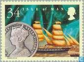 Postzegels - Man - Victoriaanse tijd