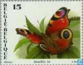 Postzegels - België [BEL] - Vlinders