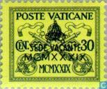 Postzegels - Vaticaanstad - Dood Paus Pius XI