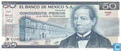Le Mexique 50 Pesos