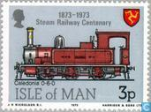 Postage Stamps - Man - Railways 1873-1973