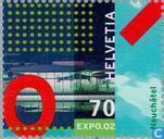 Postzegels - Zwitserland [CHE] - Expo '02